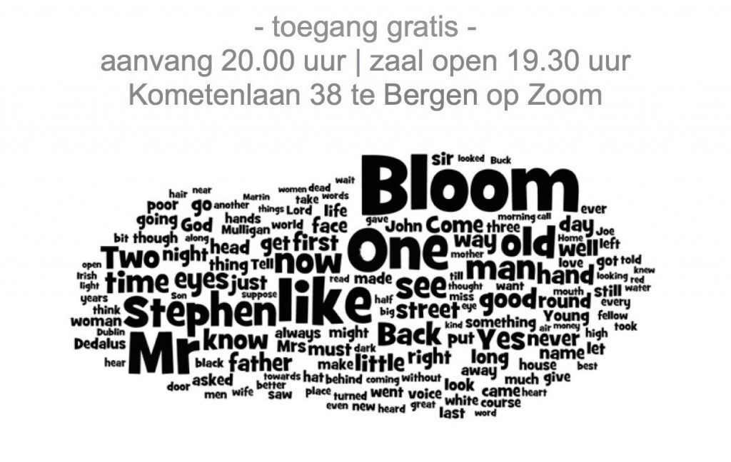 Tekst Bloomsday 2