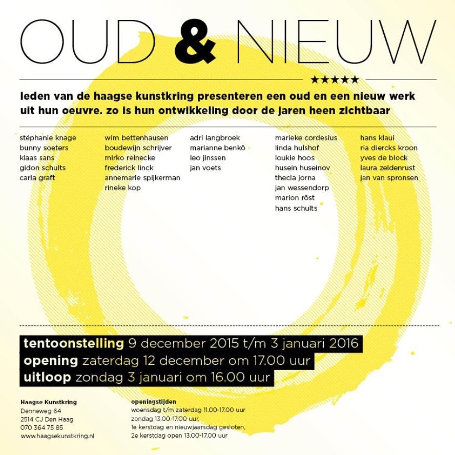 Jan Wessendorp exposeert bij Haagse Kunstkring