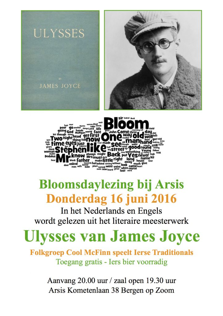 Affiche Bloomsday 3 A4