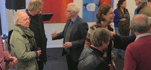 Opening januari expositie van Ank van Meer in Galerie Arsis