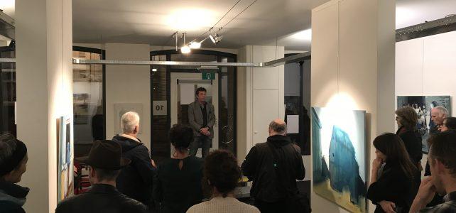 Opening Galerie arsis tentoonstelling Victor van de Lande, februari 2018