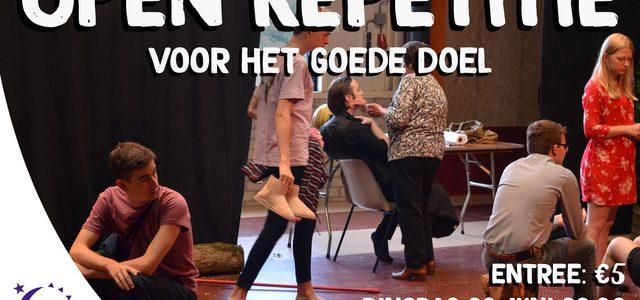 Open Repetitie Jeugdtheater Rotonde voor Samenloop voor Hoop
