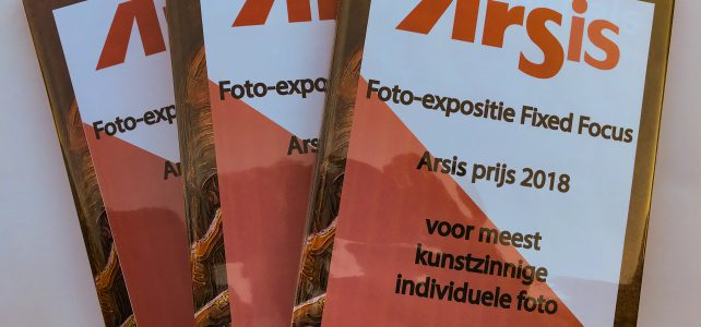 Arsis prijzen uitgereikt aan fotografen Fixed-Focus expositie.