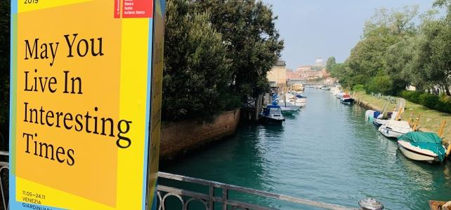 Arsis bespreekt Venetië Biënnale 2019