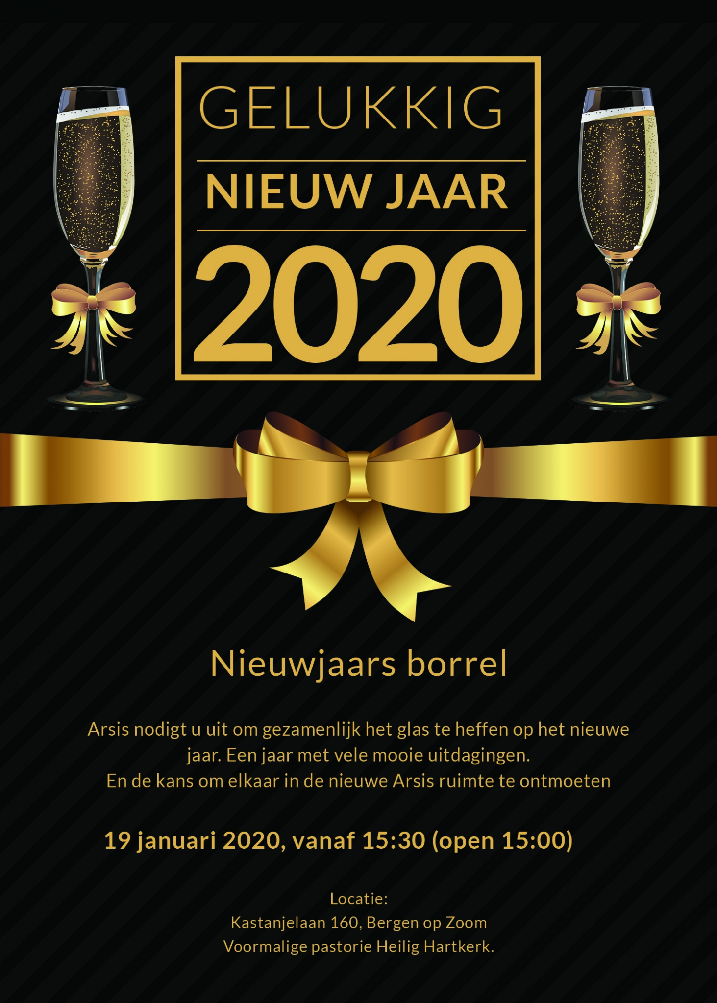 Nieuwjaars uitnodiging