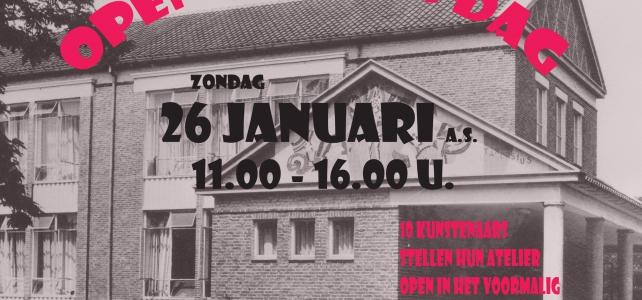 Open atelierdag Guido Gezellelaan 20