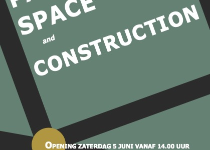 About PAINT SPACE and CONSTRUCTION.  Expositie in Galerie Arsis vanaf 3 juni 2021