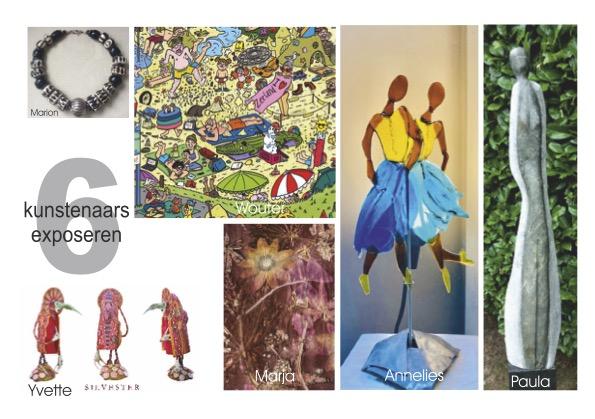 Beeldentuin Paula Withagen. 2 weekenden, 6 kunstenaars