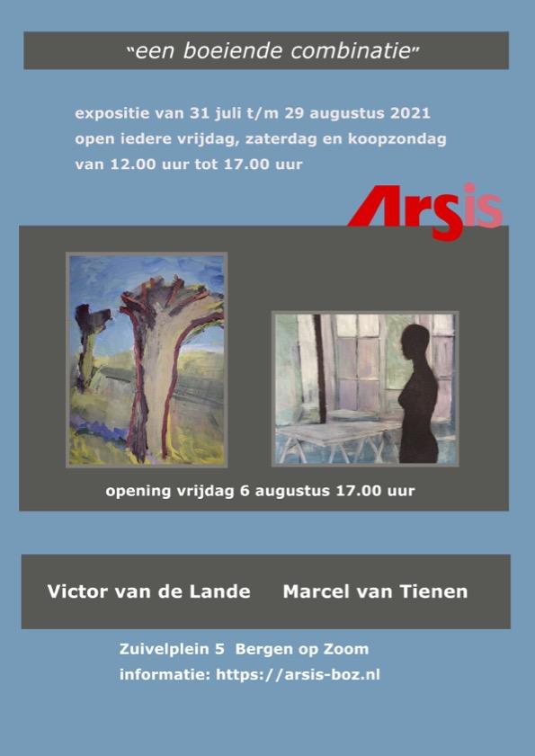 Poster Victor en Marcel 31 juli