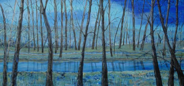 """""""Tussen verbeelding en werkelijkheid"""" acrylschilderijen van Janneke Rottier uit Goes van 1t/m31 oktober 2021 in Galerie Arsis"""